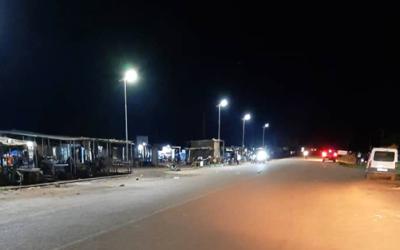 Installation deLampadaires solaires GIVO de 60W à Saponé