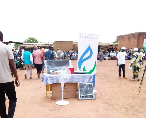 Les Kits Solaires GIVO installés à Zoumahiri